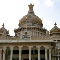 Vidhana Soudha, the seat of Karnatakas Legislative assembly in Bangalore, India., Бангалор