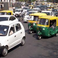 New Delhi traffic, Дели