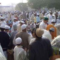 Environment before Eid namaz, Дели