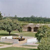 India - Delhi - Memorial to Mahatma Gandhi, Дели