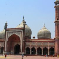 Delhi, Jama Masjid, Дели