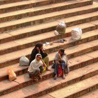 Delhi - Jama Masjid - vista laterale, Дели