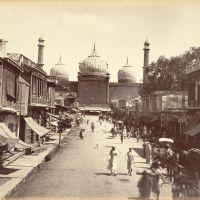 Chawri Bazar in 1870, Дели