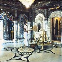 Calcutta - Temple jaïn (intérieur), Калькутта
