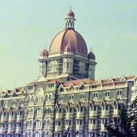 Hotel Taj,Bombay 1/1987, Бомбей