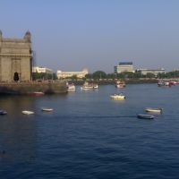 Gateway of India with Sea face View, Бомбей
