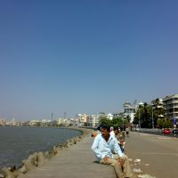 The Marine Drive, Бомбей