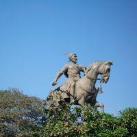 Chatrapati Shivaji Maharaj Statue - Marina Gate - Mumbai - INDIA, Бомбей