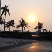 Sunset / Marine Drive, Mumbai, Бомбей