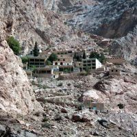 Check-O-Check * Zoroastrians pilgrim site*, view from downhill., Марагех
