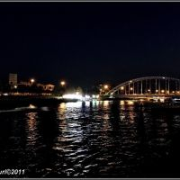 Babolsar second bridge at night, Бабол