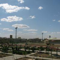 یه نمای کلی از محوطه دانشکده نفت آبادان 1388   Abadan faculty of petroleum, Абадан