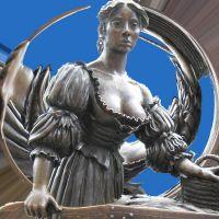 Molly Malone Statue Dublin Ireland Stylized, Дан-Логер