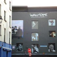 Hírességek fala - Wall of Fame,Dublin, Дан-Логер