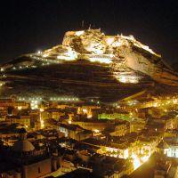 ALICANTE-Vista nocturna., Аликанте