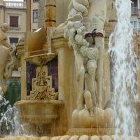"""Fuente de la """"Plaza de Los Luceros"""", Аликанте"""