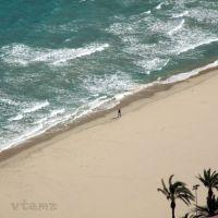 Playa del Postiguet (by vtemz), Аликанте