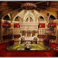 Barcelona -- La Catedral de la Santa Cruz y Santa Eulalia, Барселона