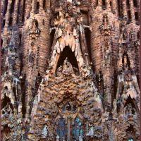Sagrada Família - UNESCO World Heritage Site, Барселона
