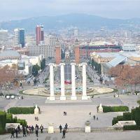 Mirador Palau Nacional., Барселона