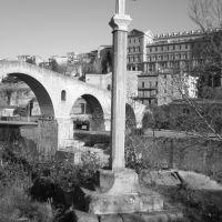 Creu de la Guia i pont vell, Манреса