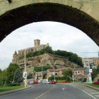 ESPAÑA  Entrada por C-1411, Manresa, Манреса