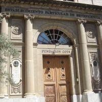 Façana edifici Fundació Cots (www.guiamanresa.com), Манреса