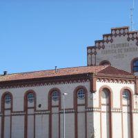 Florinda - Seu Policia Local - Edifici de lany 1912, antiga farinera (www.guiamanresa.com), Манреса