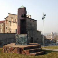 Escultura prop del convent de Sta. Clara (www.guiamanresa.com), Манреса