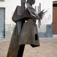 Escultura dedicada al mon Geganter (www.guiamanresa.com), Манреса