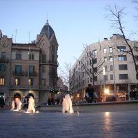 Plaça Sant Domenèc al capvespre - (www.guiamanresa.com), Манреса