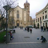 sabadell plaça sant roc, Сабадель