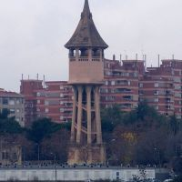 torre de l´aigua desde la salut, Сабадель