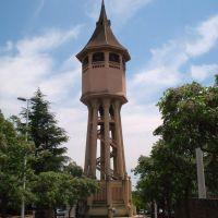 Sabadell, Torre del Agua, símbolo de la ciudad, Сабадель