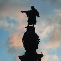 Estatua de Colon, Тарраса