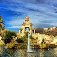 Jardin de la Ciudadela, Barcelone, Тарраса