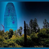 WATER TOWER, Barcelona, Тарраса