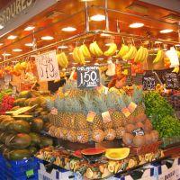 Mercat de la Boqueria - Barcellona, Тарраса