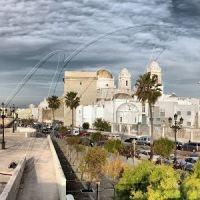Panoramica Catedral y murallas, Алжекирас