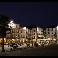 Plaza mayor (Cáceres), Ла-Линея