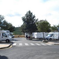 Area de Autocaravanas Caceres 39.48040 -6.36708, Ла-Линея