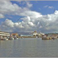 : Desde el puerto pesquero, Виго