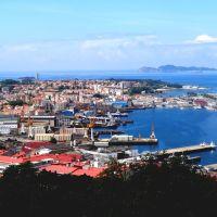 Vista de la Ria y de la Ciudad de Vigo desde el Castro, Виго