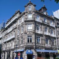 Edificio. Calle Concepción  Arenal. Vigo, Galicia, España., Виго