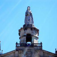 Imagen de la Virgen. Iglesia de Nuestra Señora del Carmen. Vigo. Galicia.  España., Виго