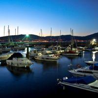 Anochece en la Ria de Vigo, Виго