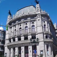Teatro García Barbón. Vigo. Galicia. España. (Modernista y Neobarroco), Виго