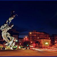 : Plaza de España en Vigo - (Ampliar . Extend), Виго