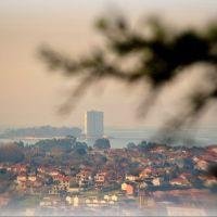 Vigo, coa illa do Toralla ao fondo, Виго