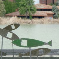 Laguna de Duero - Lago -Esculturas, Вальядолид